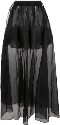 Litkovskaya Sheer Maxi Skirt