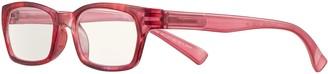 Magnif Eyes Ready Readers Pasadena Glasses, Raspberry