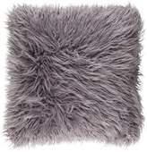 Apt2B Ophelia Shag Pillow LIGHT GREY