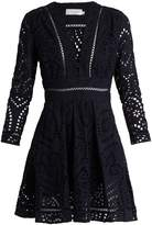 Zimmermann Ryker broderie-anglaise cotton dress