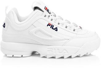 Fila Disruptor II Premium Leather Sneakers