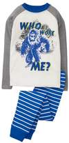 Crazy 8 Who Woke Me 2-Piece Pajama Set