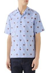 Gucci Classic Bowling Slim Fit Shirt