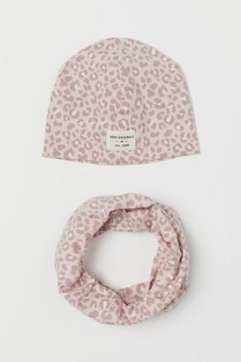 H&M 2-piece Cotton Set - Pink