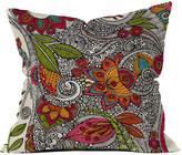 Deny Designs Valentina Ramos Random Flowers Throw Pillow