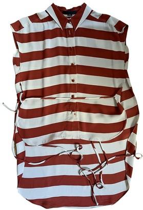 Alexander Wang Red Silk Top for Women