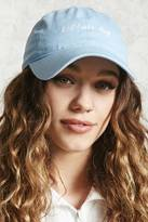 Forever 21 FOREVER 21+ Bad Hair Day Embroidered Cap