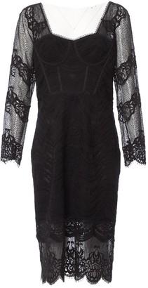 Jonathan Simkhai Black Synthetic Dresses