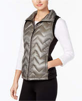 Calvin Klein Chevron Quilted Vest, Created for Macy's