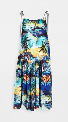 One Teaspoon Hawaiian Slip Dress