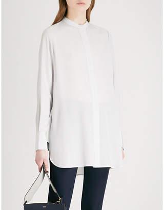 Joseph Carla striped silk crepe-de-chine blouse