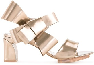 DELPOZO Bow Detail Sandals