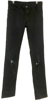 J Brand Navy Cotton Jeans for Women