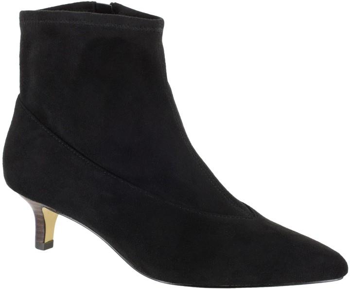d1802f21c71 Kitten Heel Ankle Boots - StephanieII