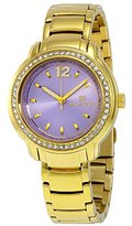 Tommy Hilfiger Calle Lavender Dial Gold-tone Stainless Steel Ladies Watch 1781561