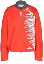 adidas by Stella McCartney Stella McCartney red studio bamboo jacket