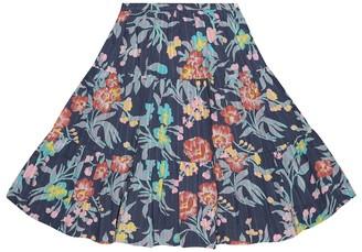 Bonpoint Lise printed cotton skirt