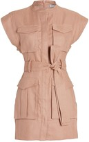 Shona Joy Eames Linen Utility Dress