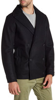Saturdays Surf NYC Ulysses Double-Breasted Peacoat