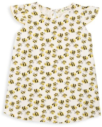 The Bonnie Mob Baby Girl's Lazy Hazy Summer Days Bee-Print Sun Dress