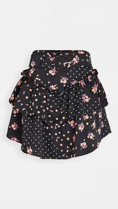 For Love & Lemons Camellia Miniskirt