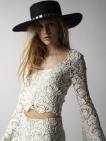 Winston White Laredo Crop Top in Feather