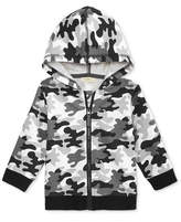 First Impressions Camo-Print Hoodie, Baby Boys, Created for Macy's