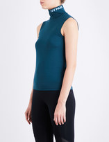 Ivy Park Funnel neck jersey top