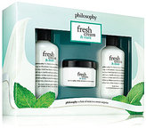 philosophy Fresh Cream & Mint Trio