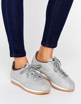 Nike Cortez Premium Sneakers In Grey