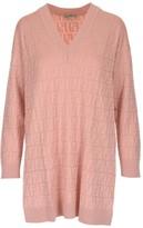 Fendi V-Neck Knitted Dress