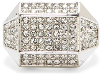 Vince Camuto Pave Crystal Geometric Ring - Size 7
