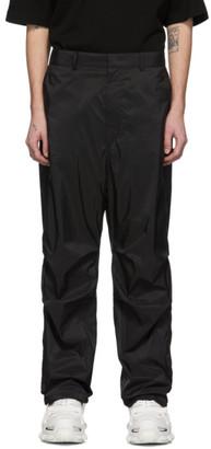 Juun.J Black Pouch Trousers