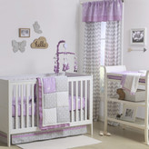 The Peanut Shell Wild and Free Patchwork 4 Piece Crib Bedding Set