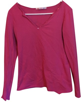 Berenice Pink Cotton Top for Women