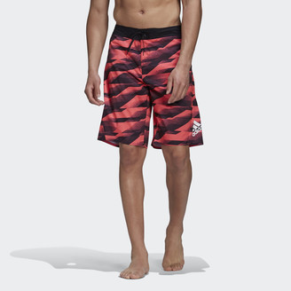 adidas Knee Length Graphic Board Shorts