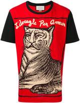 Gucci L'aveugle par amour t-shirt - men - Cotton - L