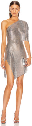 Fannie Schiavoni Rosie Dress in Silver | FWRD