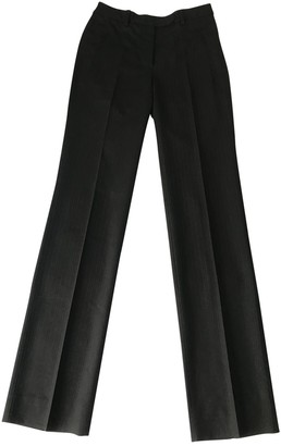CNC Costume National Black Wool Trousers for Women