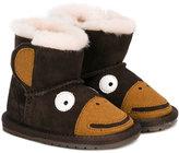 Emu monkey boots