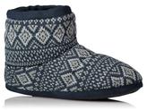 George Fairisle Slipper Boots