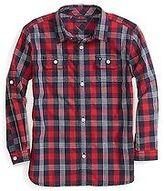 Tommy Hilfiger Little Boy's Plaid Woven Shirt