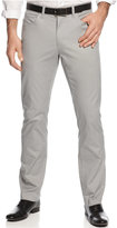 Alfani Cotton Stretch Pants, Slim Fit