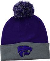 Top of the World Kansas State Wildcats 2-Tone Pom Knit Hat