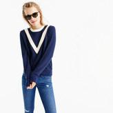 J.Crew Varsity colorblock sweatshirt