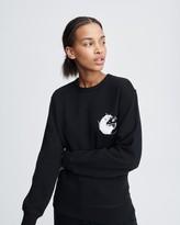 Rag & Bone Yin yang rat sweatshirt