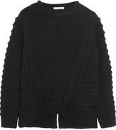 Dagmar Emerald wool and cotton-blend sweater