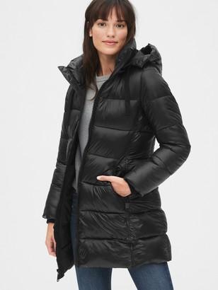 Gap ColdControl Max Puffer Coat with Detachable Hood