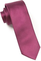 The Tie Bar Wine Skinny Solid Tie