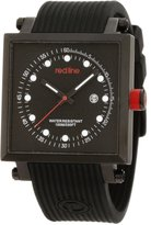 Redline Red Line Men's Compressor 2 Chronograph Dial Silicone Watch RL-50036-BLK
